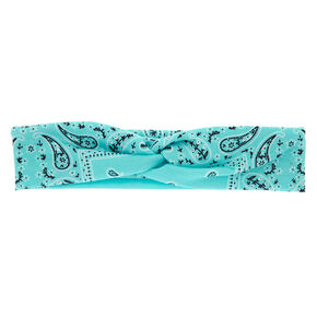Bandana Twisted Headwrap - Mint,