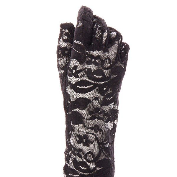 Claire's - lace elbow gloves - 1