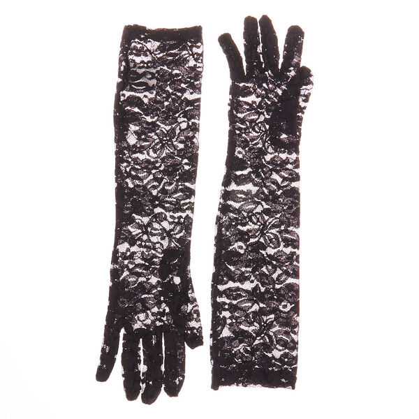 Claire's - lace elbow gloves - 2