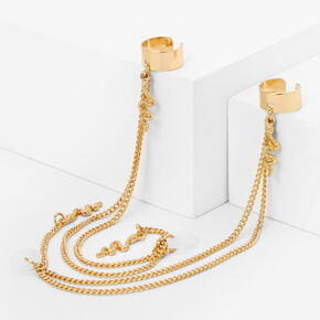 Gold Snake Ear Cuffs - Compatible With Apple AirPods®,