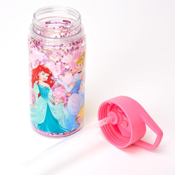 ©Disney Princess Glitter Water Bottle – Pink,