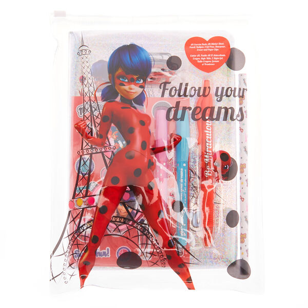 Claire's - miraculous™ follow your dreams stationery set - 1