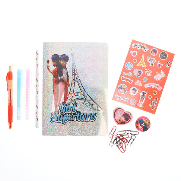 Claire's - miraculous™ follow your dreams stationery set - 2