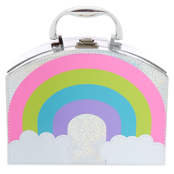 Claire's - holographic cosmetic mega case - 2