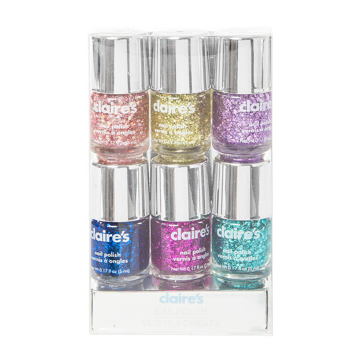 Glitter Nail Polish Pack 5