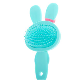 Jade the Bunny Paddle Hair Brush - Mint,