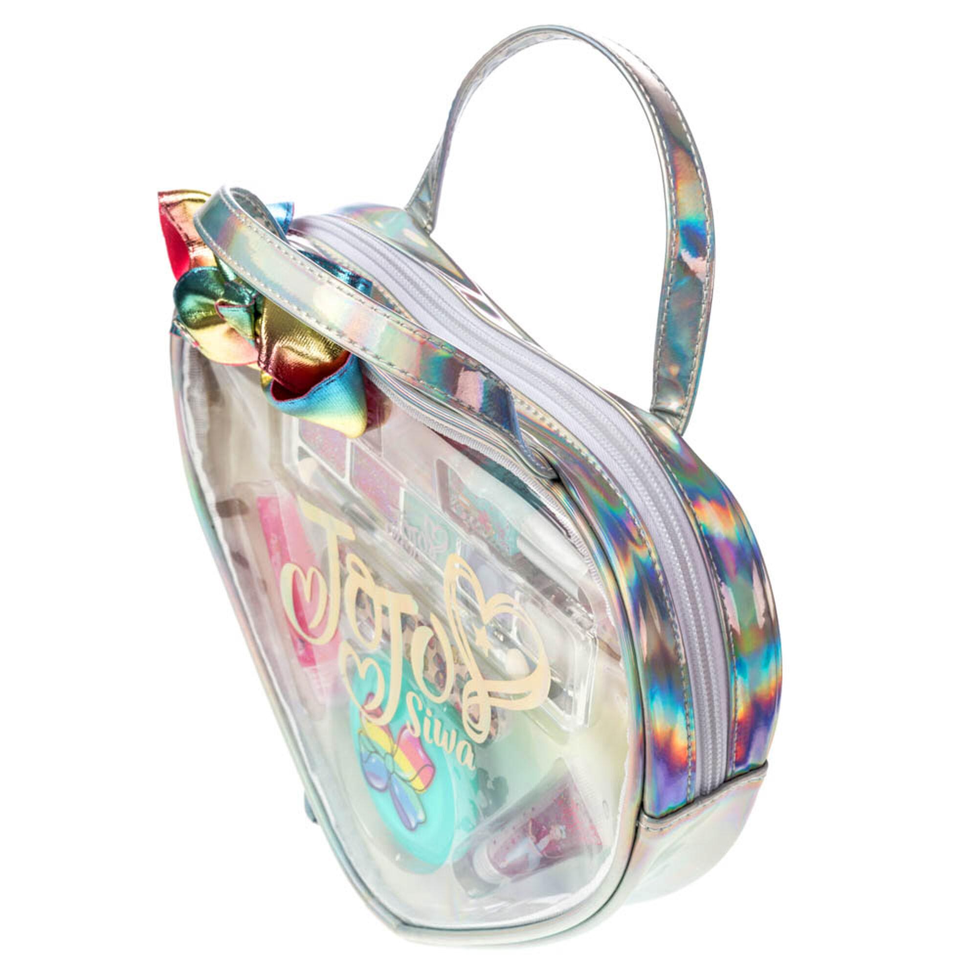 JoJo Siwa™ Heart-Shaped Holographic Cosmetic Bag with ...