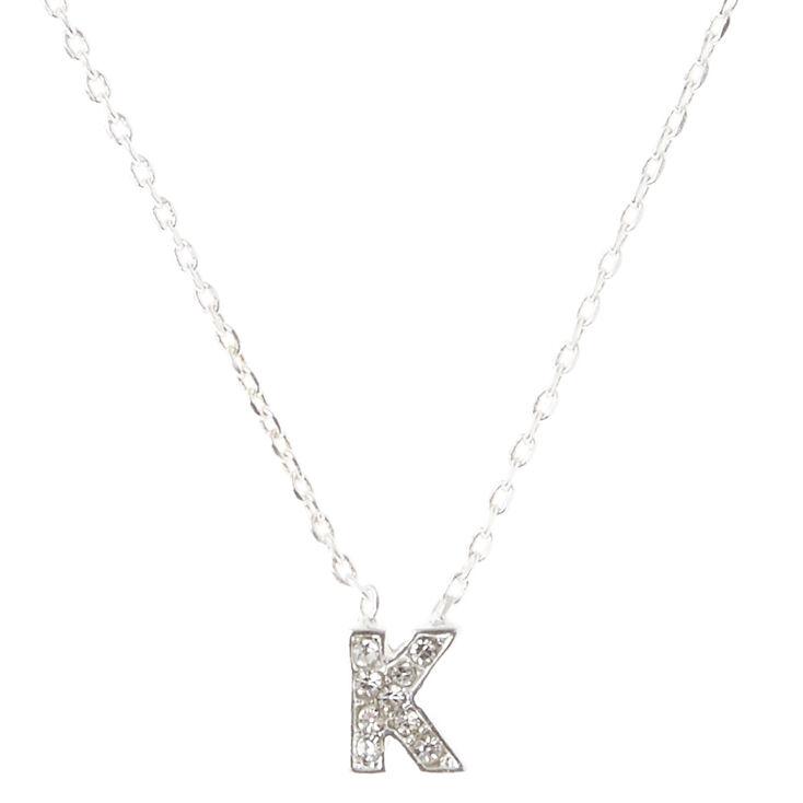 8f136d9ca4260d K Pendant Necklace | Claire's