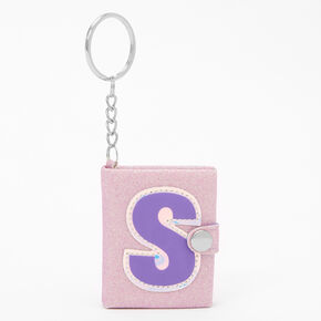 Initial Mini Journal Keychain - S,