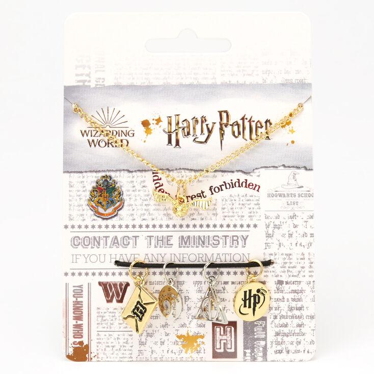 Collier à plusieurs breloques Harry Potter™ - Lot de 5,