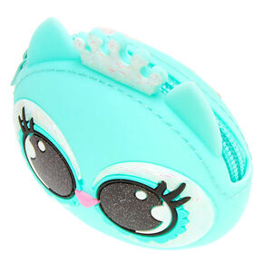 Luna the Owl Jelly Coin Purse - Mint,