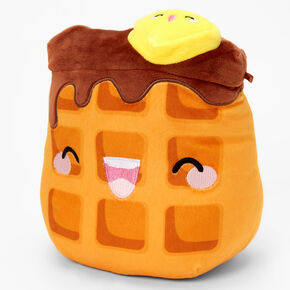 """Squishmallows™ 8"""" Claire's Exclusive Waffle Plush Toy,"""