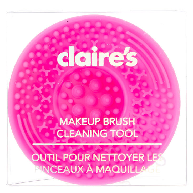 outil pour nettoyer les pinceaux maquillage rose vif claire 39 s fr. Black Bedroom Furniture Sets. Home Design Ideas