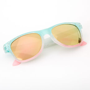 Claire's Club Pastel Ombre Retro Sunglasses,