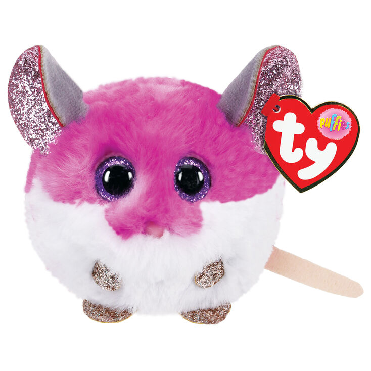 Ty Puffies Colby the Mouse Plush Toy,