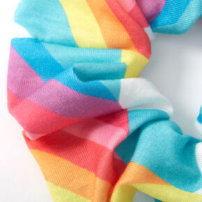 Medium Rainbow Cloud Hair Scrunchie,