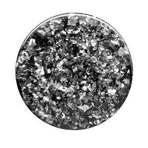 PopGrip PopSockets interchangeable - Confettis noirs métallisés,