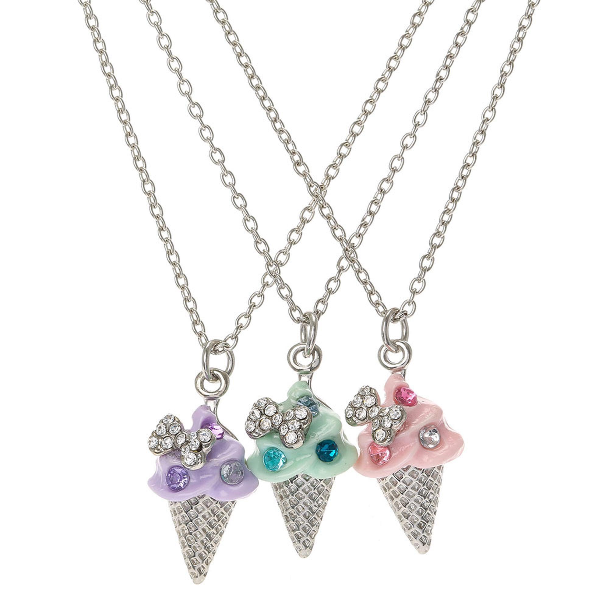 Ice Cream Best Friend Necklaces