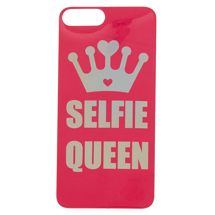 the best attitude 4888b afd93 Pink Selfie Queen Phone Case - Fits iPhone 6/7/8 Plus