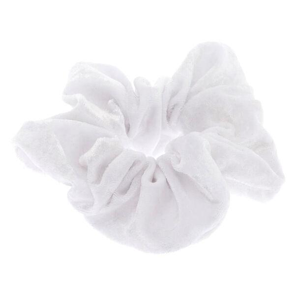 Claire's - large velvet hair scrunchie - 2