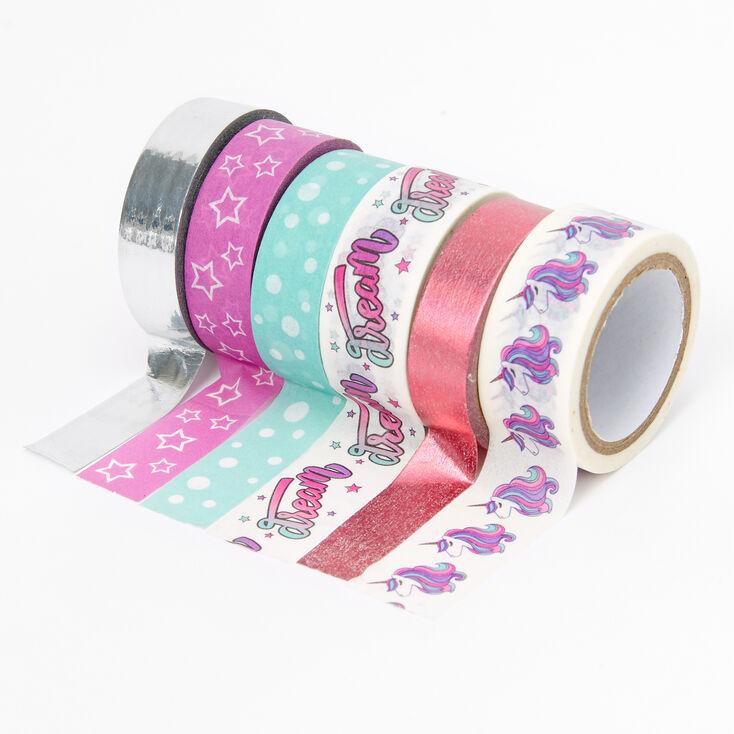 Unicorn Washi Tape Set - 6 Pack,