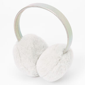 Plush Ear Muffs - Gray,