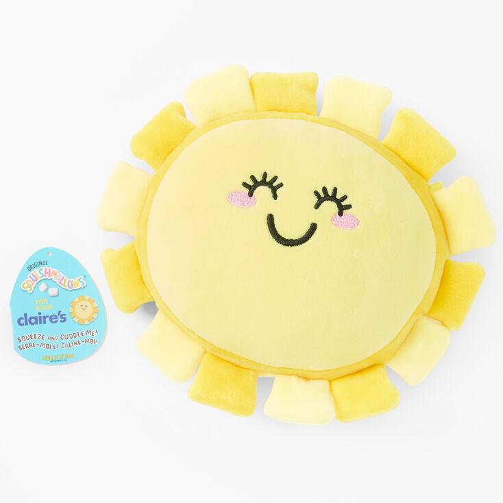 """Squishmallows™ 8"""" Claire's Exclusive Sun Plush Toy,"""