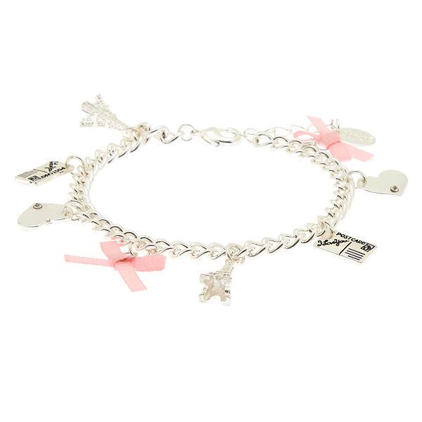 Claire's - paris tourist charm bracelet - 1