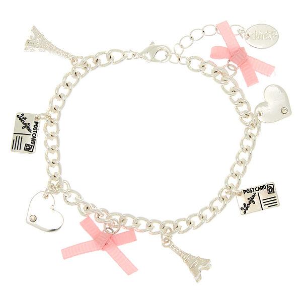 Claire's - paris tourist charm bracelet - 2