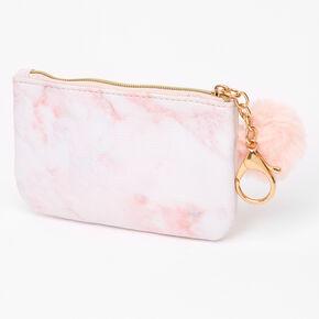 Pink Marble Makeup Bag,