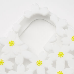 Daisy Silicone Phone Case - Fits iPhone 11,