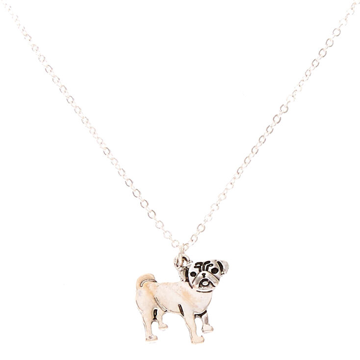 Choose Coin Pug Necklace or Keychain Coin Jewelry