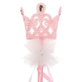 Baguette de princesse avec couronne Claire'sClub - Rose,