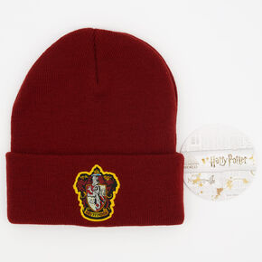 Harry Potter™ Gryffindor Beanie Hat – Burgundy,