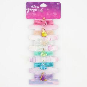 Élastiques à paillettes ®Disney Princess - Lot de 6,