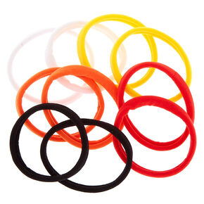 Sunset Rolled Hair Bobbles - 10 Pack,