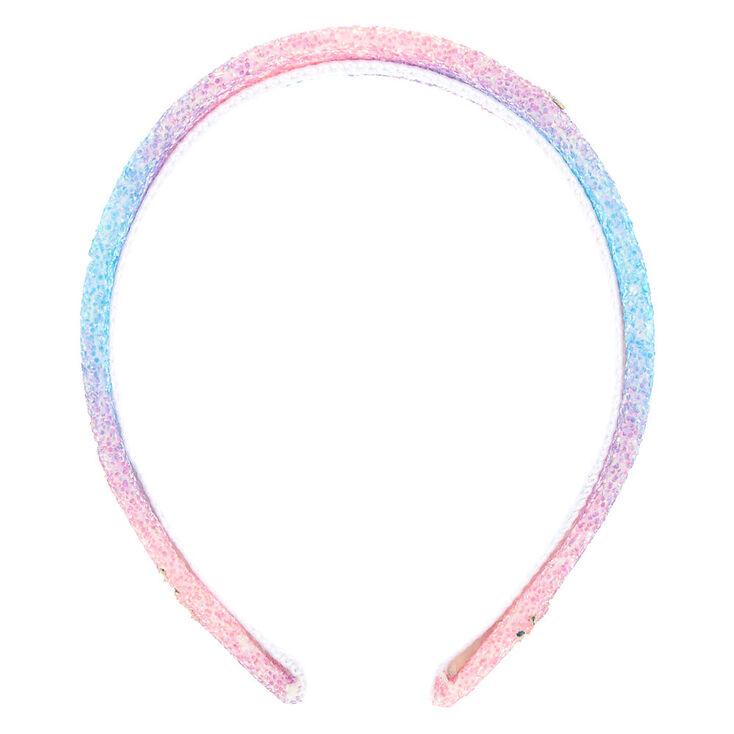 Unicorn Holographic Glitter Headband,