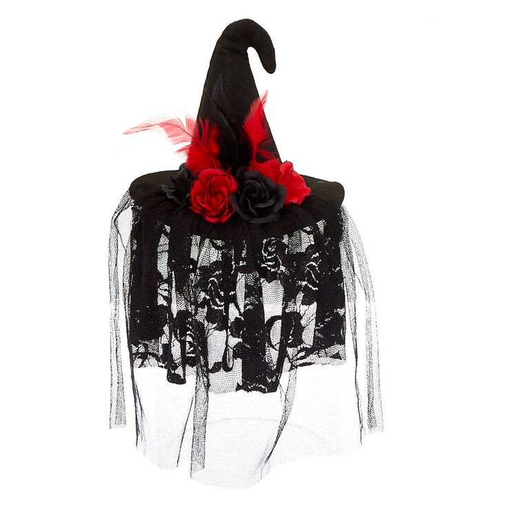 Witch Hat Hair Fascinator - Black  8d9e916afbb