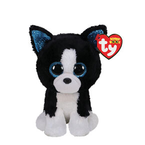 Ty Beanie Boo Small Baxter the Dog Soft Toy,