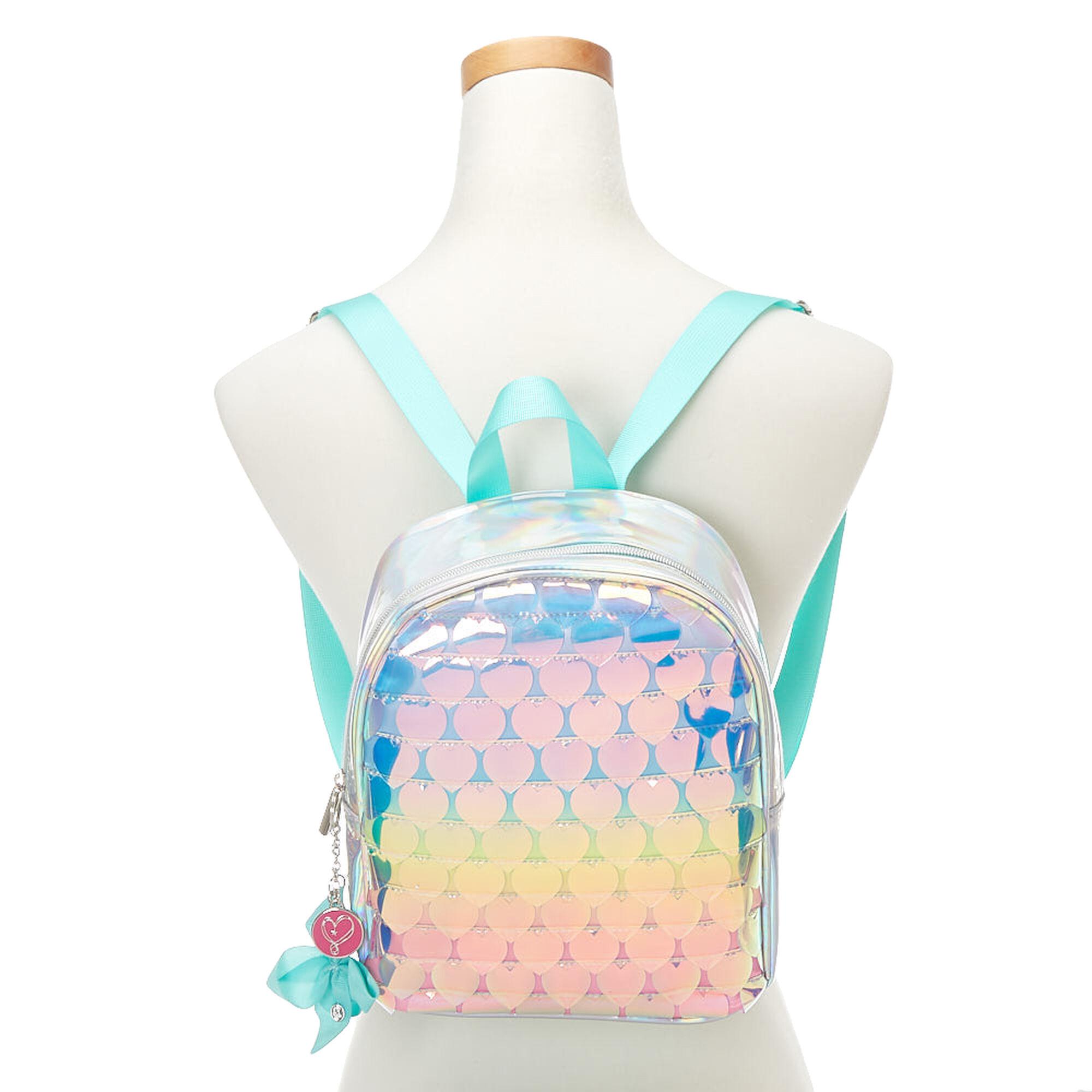 59660159a3 ... JoJo Siwa trade  Rainbow Hearts Mini Backpack ...