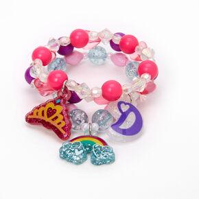 Love, Diana™ Beaded Stretch Bracelets – 3 Pack,