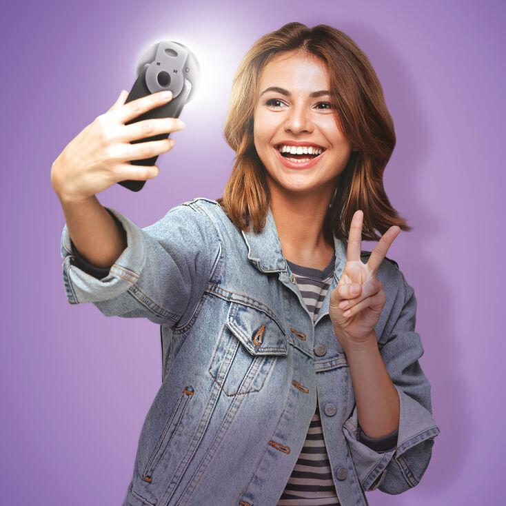 Éclairage circulaire pour selfie 8cm Studio Creator™,