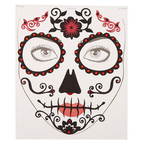Day of The Dead Skeleton Face Stickers,