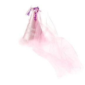 Kids Pink Birthday Princess Party Hat,