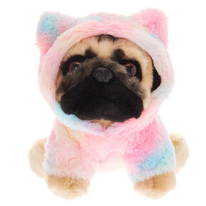 Doug the Pug ™ Soft Toy - Rainbow,
