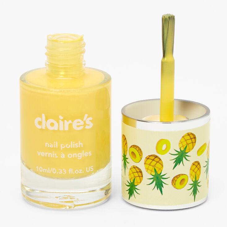 Scented Nail Polish - Yellow,