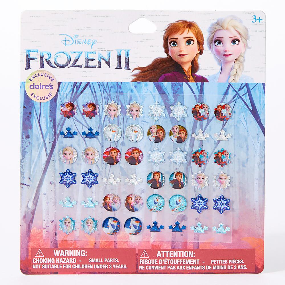 Frozen Elsa Anna Earring Children Girls Pierced Disney Stud Jewelry Fashion Uk