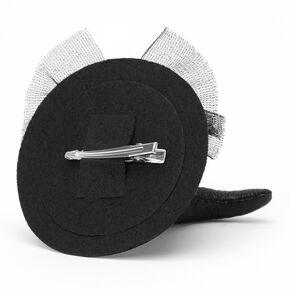 Witch Hat Fascinator - Black,