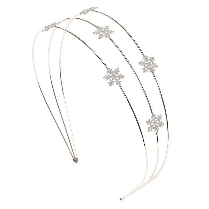 Kids Snowflake Metal Headband  c635ca45470