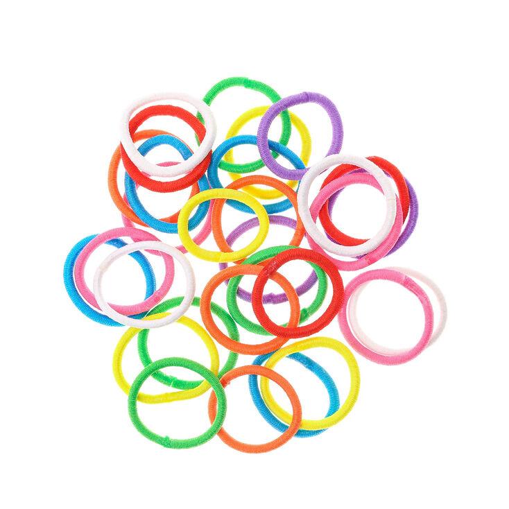 Rainbow Assortment No More Snags Elastics,